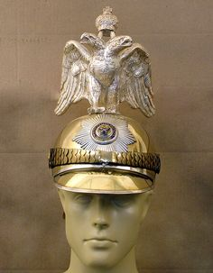 Imperial Russian 19th Century Double Eagle Helmet