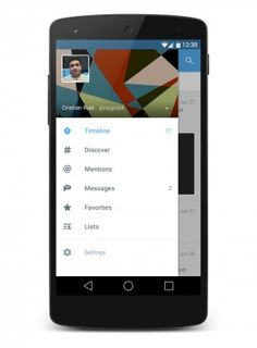 Rombak Tampilan Aplikasi Twitter Dengan Material Design http://www.aplikanologi.com/?p=27740