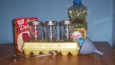Make a cake in a jar to send to our troops overseas. Perfect for college students or friends. The method can also be used to send homemade meatloaf, stews, etc. Homemade Meatloaf, Cake In A Jar, Activity Days, Box Packaging, Step By Step Instructions, College Students, How To Make Cake, Party Favors, Mason Jars
