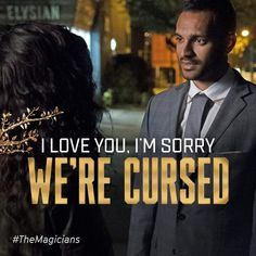 The Magicians, Penny and Kady The Magicians Syfy, Music Tv, Getting Out, I Love You, Tv Shows, Fandoms, Quotes, Youtube, Movie Posters