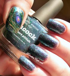piCture pOlish Peacock | Pointless Cafe
