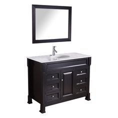 The+Hunter+bathroom+vanity+set+features+maximum+storage+with+one+soft+closing+door+and+six+soft+closing+drawers.+The+vanity+is+constructed+from+solid+birch+and+high+quality+plywood+with+a+luxurious+white+Italian+Carrara+marble+counter+top.