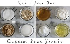 Custom Face Scrubs