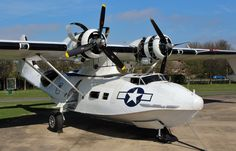 PBY-5A Catalina, Duxford 14-4-15 ~ BFD