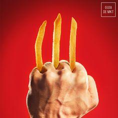 #McDonalds #Publicidade #Propaganda #Advertising #Wolverine #GuiaDeMarketing #Marketing