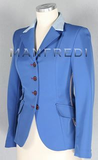 Manfredi Show Jacket With Changeable Collar One Jacket
