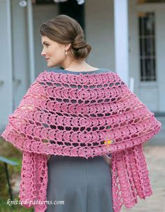 Readers Wrap Knitting Pattern : 1000+ images about chal crochet on Pinterest Crochet Shawl, Shawl and Ganch...