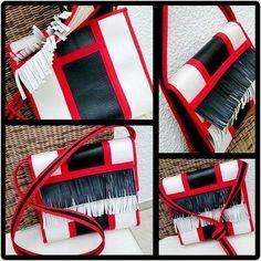 Tasche/Umhängetasche Damen aus Feuerwehrschlauch Einzelstück