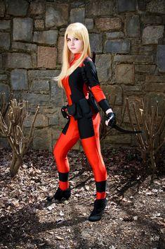 Lady Deadpool Cosplay (Marvel Comics) by BlindRainbow.deviantart.com on @deviantART