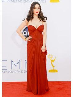 #KatDennings doesn't look broke in this snapshot! #Emmys2012 #BestDressed2012
