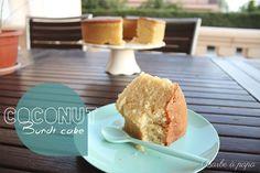 Bundt cake de leche de coco (BUENISIMO) [Tradicional]