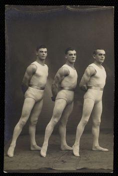 Vintage Photography: Acrobats