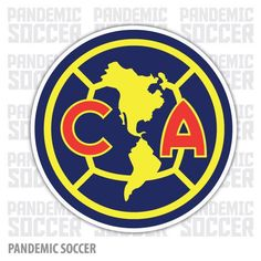 Aguilas America Mexico Vinyl Sticker Decal Calcomania