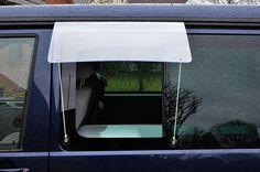 Regenschutz Seitenscheibe
