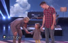 "There's no doubt about it, Ellen DeGeneres is a fan of LDS 4-year-old Claire Ryann. Watch what happened when Claire wowed Ellen on ""The Ellen DeGeneres Show."""
