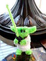 Pipe Cleaner Yoda by fuzzington