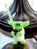 Pipe Cleaner Yoda by fuzzington