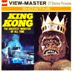 John Kenneth Muir's Reflections on Cult Movies and Classic TV: King Kong GAF Viewmaster King Kong, Cult Movies, Horror Movies, Gi Joe, Retro Toys, Vintage Toys, Childhood Toys, Childhood Memories, Os Goonies