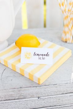 Host a Lemonade Stand this Summer! Warm, sunny, summer days are here and nothing sounds quite as refreshing as a nice glass of ice cold lemonade! We've partnered with Cricut Explore to bring you these adorable Watercolor Lemonade Stand Designs! A lemonade stand is a great way for your young entrepreneur to fill the summer days. Set up shop in the front yard and these printables will add the perfect touch! See more on The TomKat Studio!