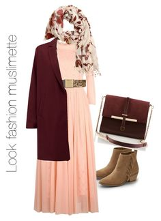 look hijab nude lie de vin couleur tendance 2015/2016 by fatjel on Polyvore featuring polyvore, fashion, style, American Vintage, American Eagle Outfitters, H&M and Topshop