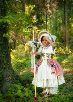 Little Bo Peep Storybook Dress Up Costume Halloween