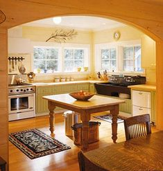 kitchen...like the arched opening.