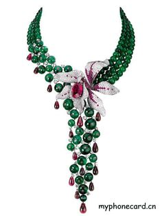 Probably wouldn't wear it but WOW, what a piece! cartier jewelry | Jewelry Trends: Cartier Orchid jewelry