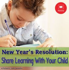 Show your kids you're a fellow learner! Click for  ideas on how we can share learning.