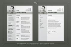 Ad: Resume/CV - Taylor by bilmaw creative on Resume / CV Template - Taylor --- This Resume/CV template is also included in the 'Job Hunter' discounted bundle, just click this link: Cover Letter For Resume, Cover Letter Template, Cv Template, Letter Templates, Resume Templates, Resume Cv, Resume Writing, Resume Design, Student Resume Template