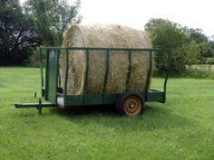 portable round bale feeder