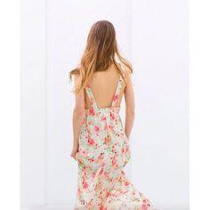 {Zara} Floral Maxi