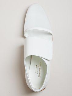 Junya Watanabe Womens Mesh Toe Shoes