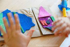 Paper Puppet Kids Craft