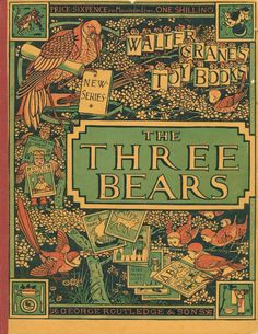 Walter Crane - The Three Bears - 1873