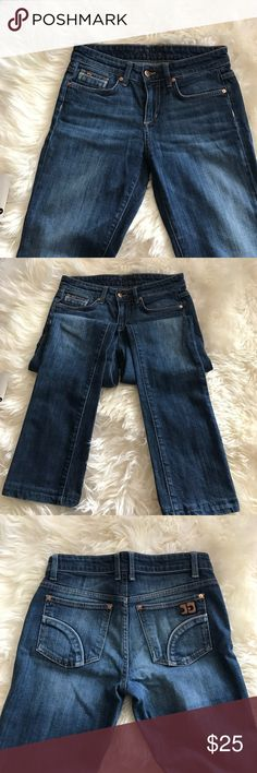 """Joe's Jeans denim """"Best Friend"""" Fit. These jeans have been hemmed but still in amazing confusion. Outseam: 36"""", inseam 28"""", waist 14"""". Joe's Jeans Jeans Boot Cut"""