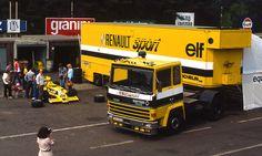 Berliet - Renault f1 EARLY 1980'S