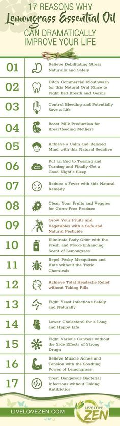 17 Reasons Why Lemongrass Essential Oil Can Dramatically Improve Your Life - Live Love Zen