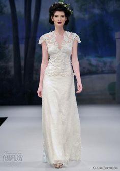claire pettibone 2012 wedding dress collection