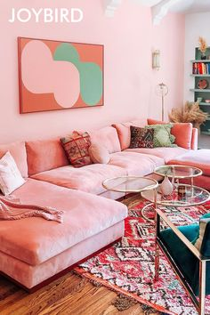 Room Ideas Bedroom, Bedroom Decor, Pink Couch, Pink Velvet Couch, Aesthetic Bedroom, My New Room, House Rooms, Apartment Living, Home And Living