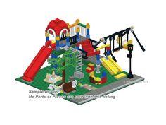 CD Playground Classic City Instructions PDF Custom Lego 10233 town ...
