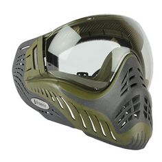 VForce Profiler Reverse Olive Drab Paintball Goggle | Badlands Paintball Gear Canada