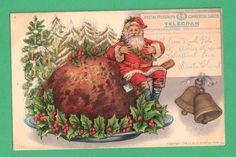 1910  Santa Claus Christmas Postcard