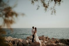 This ultimate Wedchella wedding was out of this world! This super fun couple decided to have the party of their life and tie the knot in Greece! Out Of This World, Love Couple, Couple Photography, Athens, Real Weddings, Chic, Couples, Fun, Elegant