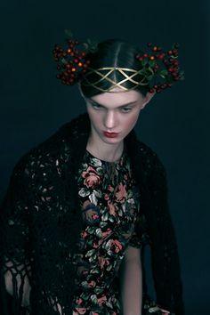 Russian style Anna Bakhareva`s styling