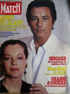 Paris Match N° 1650 Romy Schneider Alain Delon Stars DE L'Annee 1981 | eBay