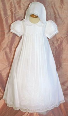 Feltman Brothers by Friedknit Creations - Girl's Christening Gown - $105.00 - sizes:  6/9 month & 9/12 month