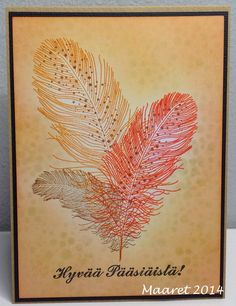 Papertrey Ink - feather finery