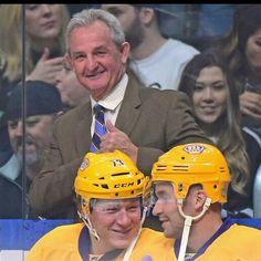 Coach Sutter Smiling!! ♡