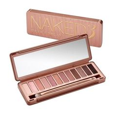 Naked3 Makeup Palette   Eyeshadow Selection   Urban Decay ❤ liked on Polyvore featuring beauty products, makeup, eye makeup, eyeshadow, beauty, cosmetics, filler, urban decay, urban decay eye shadow and urban decay eye makeup