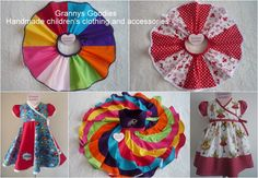 Just a sample of the handmade clothing available at Grannys Goodies  https://www.facebook.com/pages/Grannys-Goodies/225289514195576